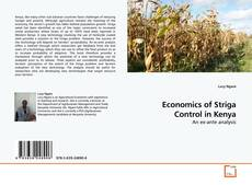 Bookcover of Economics of Striga Control in Kenya