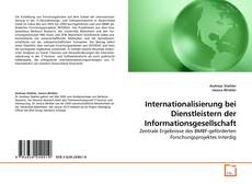 Capa do livro de Internationalisierung bei Dienstleistern der Informationsgesellschaft