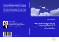 Buchcover von Unternehmensgründung