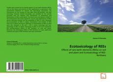 Portada del libro de Ecotoxicology of REEs