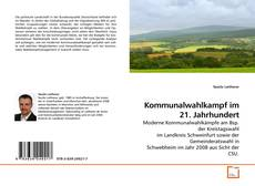Portada del libro de Kommunalwahlkampf im 21. Jahrhundert