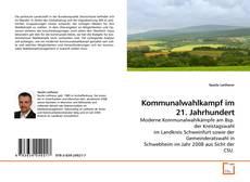 Bookcover of Kommunalwahlkampf im 21. Jahrhundert