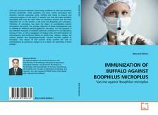 IMMUNIZATION OF BUFFALO AGAINST BOOPHILUS MICROPLUS的封面