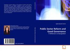 Bookcover of Public Sector Reform and Good Governance
