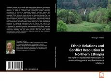 Ethnic Relations and Conflict Resolution in Northern Ethiopia的封面
