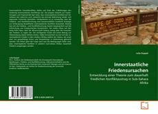 Buchcover von Innerstaatliche Friedensursachen
