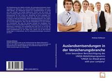 Bookcover of Auslandsentsendungen in der Versicherungsbranche