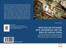 Copertina di WON-DOLLAR EXCHANGE RATE MOVEMENTS AND THE ROLE OF CAPITAL FLOWS