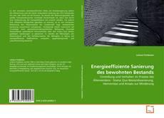 Buchcover von Energieeffiziente Sanierung des bewohnten Bestands
