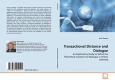 Capa do livro de Transactional Distance and Dialogue