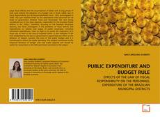 Bookcover of PUBLIC EXPENDITURE AND BUDGET RULE