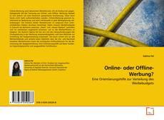 Buchcover von Online- oder Offline-Werbung?
