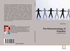 The Phenomenology of Prejudice kitap kapağı