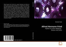 Buchcover von Alfred Hermann Fried
