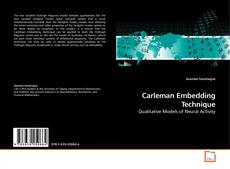 Bookcover of Carleman Embedding Technique