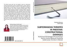 Bookcover of SUBTERRANEAN TERMITES IN PAKISTAN: CONSTRUCTIONAL DAMAGES