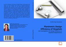 Buchcover von Planimetric Design Efficiency of Hospitals