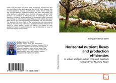 Bookcover of Horizontal nutrient fluxes and production efficiencies