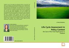 Bookcover of Life Cycle Assessment in Policy Context