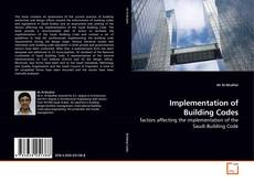Capa do livro de Implementation of Building Codes
