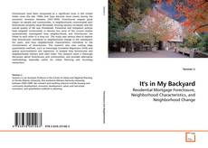 Bookcover of It's in My Backyard