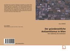 Capa do livro de Der gründerzeitliche Antisemitismus in Wien