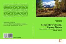 Couverture de Soil and Environmental Sciences Glossary