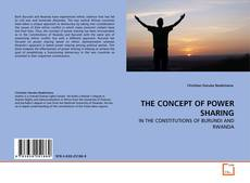 Bookcover of THE CONCEPT OF POWER SHARING
