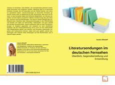Literatursendungen im deutschen Fernsehen kitap kapağı