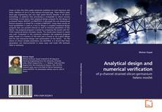 Copertina di Analytical design and numerical verification