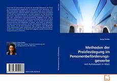 Copertina di Methoden der Preisfestlegung im Personenbeförderungs-gewerbe