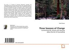 Bookcover of Three Seasons of Change