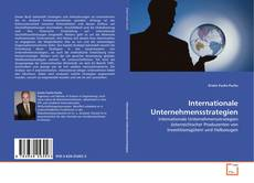 Bookcover of Internationale Unternehmensstrategien