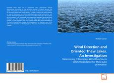 Bookcover of Wind Direction and Oriented Thaw Lakes. An Investigation