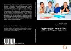 Couverture de Psychology of Adolescents