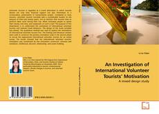 Capa do livro de An Investigation of International Volunteer Tourists' Motivation
