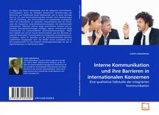 Buchcover von Interne Kommunikation und ihre Barrieren in internationalen Konzernen