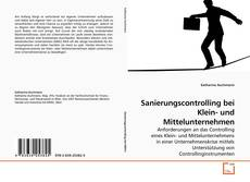 Capa do livro de Sanierungscontrolling bei Klein- und Mittelunternehmen
