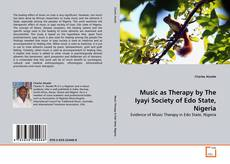 Обложка Music as Therapy by The Iyayi Society of Edo State, Nigeria