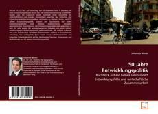 Portada del libro de 50 Jahre Entwicklungspolitik