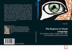 The Rupture in Visual Language kitap kapağı