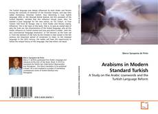 Couverture de Arabisms in Modern Standard Turkish