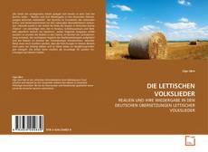 DIE LETTISCHEN VOLKSLIEDER kitap kapağı