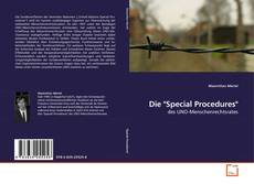 "Bookcover of Die ""Special Procedures"""