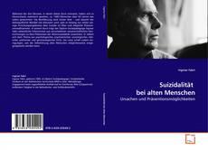 Обложка Suizidalität  bei alten Menschen
