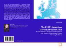 Buchcover von The ESDP's Impact on Multi-level Governance