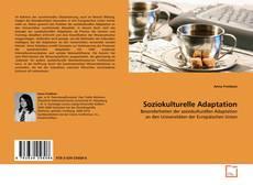 Capa do livro de Soziokulturelle Adaptation