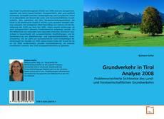 Bookcover of Grundverkehr in Tirol Analyse 2008