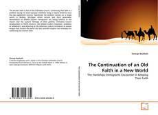 Buchcover von The Continuation of an Old Faith in a New World