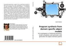 Capa do livro de Program synthesis from domain specific object models